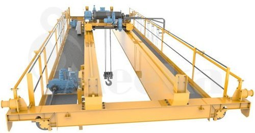 An Image Displaying the Double Girder EOT Crane by Meeka Machinery